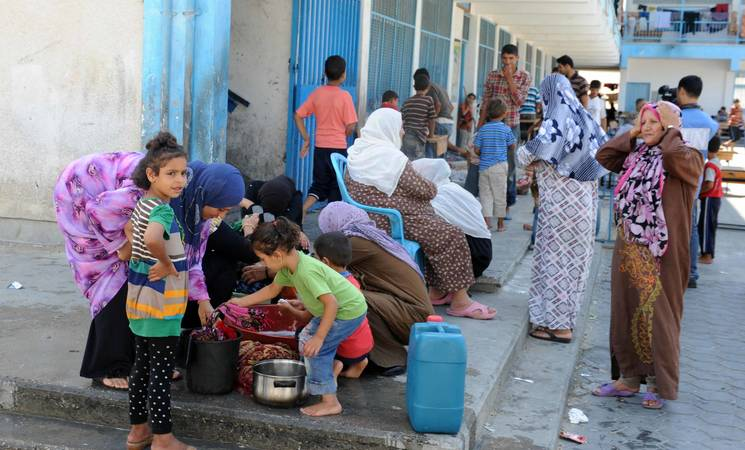 Over 100,000 Displaced: UNRWA Appeals for Support