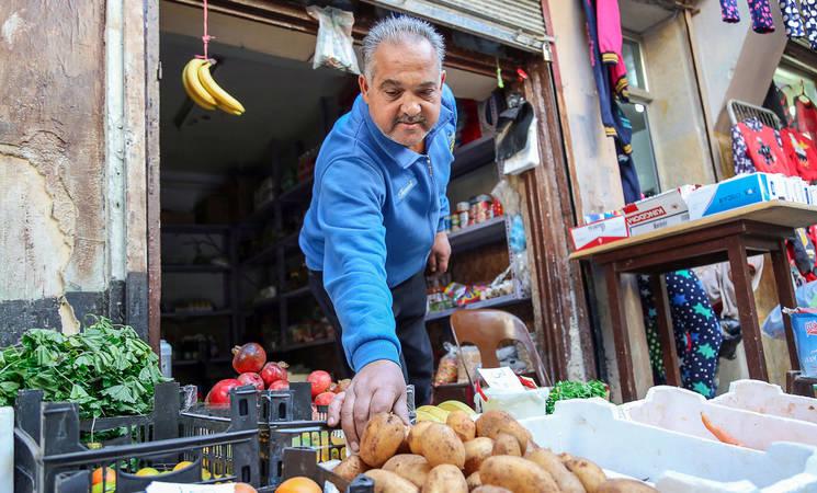 محمد الرامح، مخيم النيرب، حلب، سورية. الحقوق محفوظة للأونروا، 2016. تصوير أحمد أبو زيدو