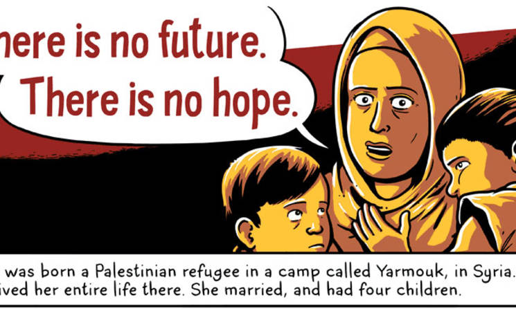 Palestine Refugees in Syria: An Andy Warner Comic