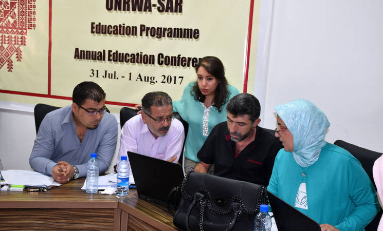 Annual Education Conference, Damascus Training Centre, Syria. © 2017 UNRWA Photo by Iyad Faouri