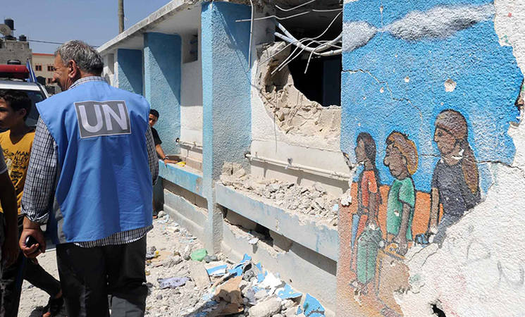 On World Humanitarian Day, UNRWA Honours Courageous Staff Members in Gaza