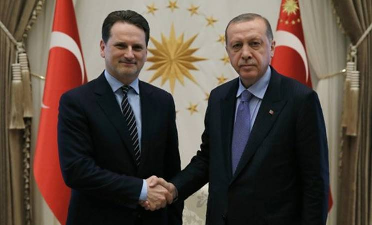 President Recep Tayyip Erdoğan received Commissioner-General Pierre Krahenbuhl of the United Nations Relief and Works Agency for Palestine Refugees in the Near East (UNRWA) at the Presidential Complex.