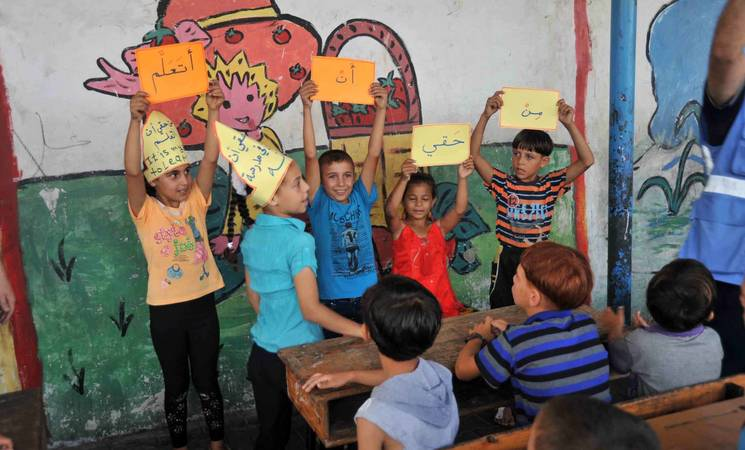 UNRWA Stands with the Children of Gaza at the Start of a New School Year UNRWA Stands with the Children of Gaza at the Start of a New School Year