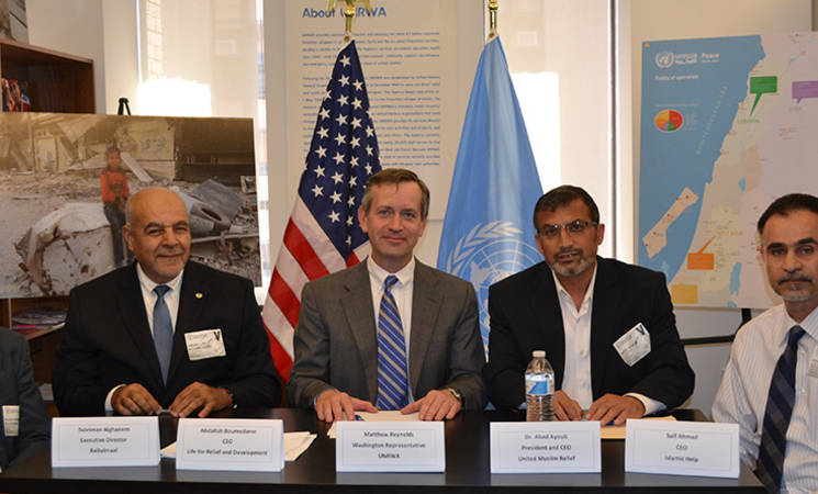 UNRWA and Coalition of Muslim Relief Organizations Sign Cooperative Agreement for Work in Gaza
