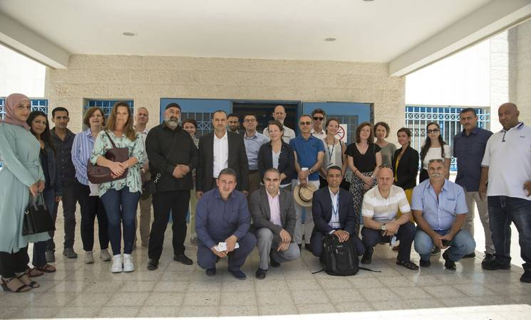 Advisory Commission members visit the West Bank - June 2019