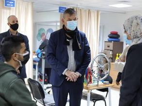 UNRWA Commissioner-General inaugurates new building of Sabra health centre in Gaza