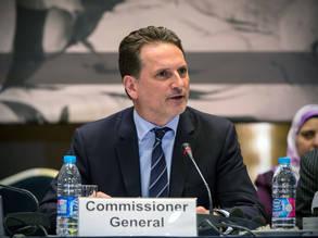 المفوض العام للأونروا للأونروا بيير كرينبول. جميع الحقوق محفوظة للأونروا 2016، تصوير ميشيل هامرز