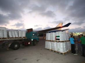 Dubai Begins Humanitarian Airlift for UNRWA in GazaDubai Begins Humanitarian Airlift for UNRWA in Gaza