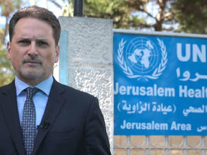 UNRWA Commissioner-General Pierre Krähenbühl. © 2017 UNRWA Photo by Marwan Baghdadi