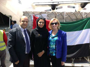 Additional Vital Assistance from the Ruler of Dubai Coordinated by the International Humanitarian City to Conflict-Affected Palestinians in Gaza