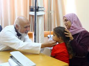Dr. Mahmoud Shaker, former deputy chief of the UNRWA health programme in Gaza. © 2019 UNRWA Photo by Khalil Adwan.