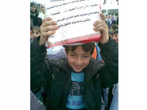 """I am just a child, I know nothing about politics."". Hatem's story"