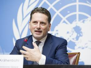 Pierre Krähenbühl, Commissioner-General. © 2019 UN Photo Violaine Martin