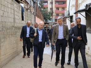 UNRWA Advisory Commission members visit Lebanon on 27 and 28 November
