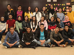 Twenty two UNRWA students are elected to represent more than half a million Palestine refugee students in the Agency-wide Student Parliament. © 2019 UNRWA Photo