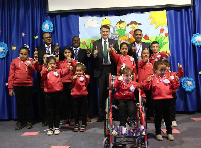 المفوض العام بالانابة كريستيان ساوندرز حضر حفلا لإحياء اليوم العالمي للأشخاص ذوي الإعاقات , 4 كانون الاول , صور الاونروا  2019
