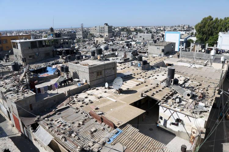 مخيم رفح ، قطاع غزة. الحقوق محفوظة للأونروا، 2016. تصوير خليل عدوان