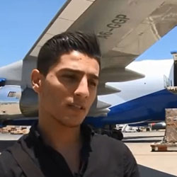 'Assaf on Humanitarian Airlift for Gaza