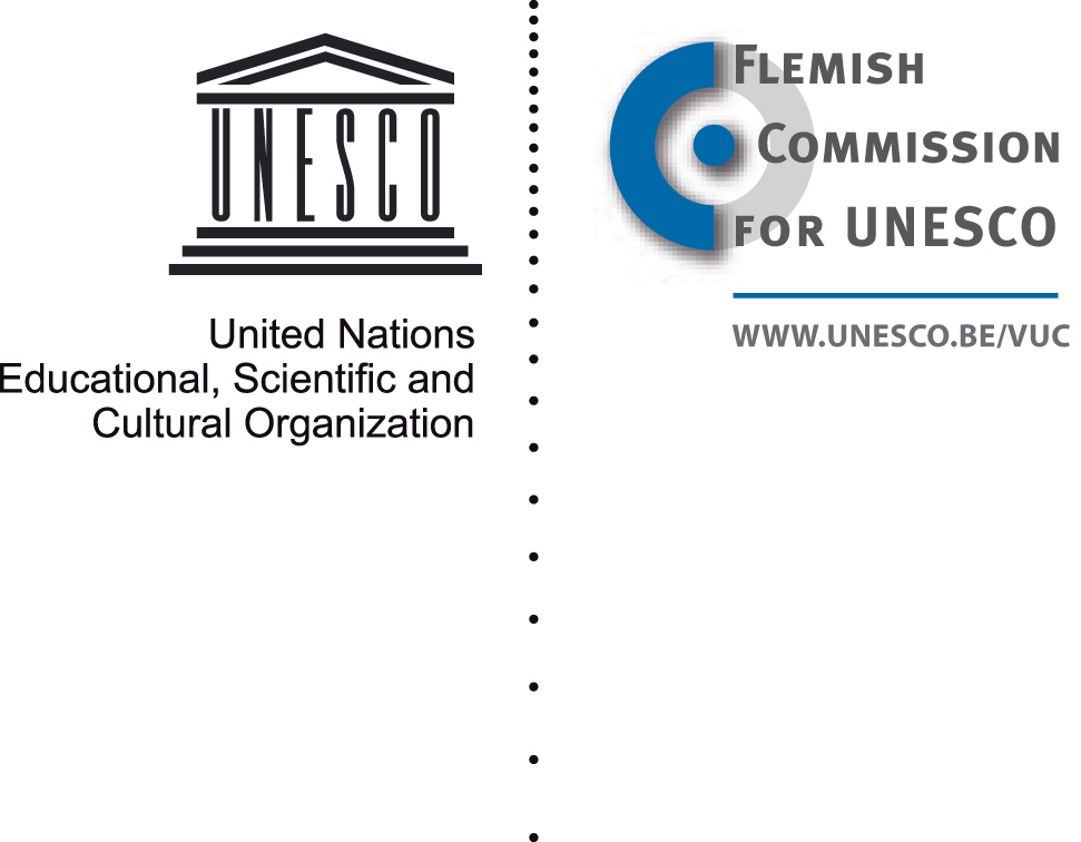 UNESCO & Flemish Commission for UNESCO logo