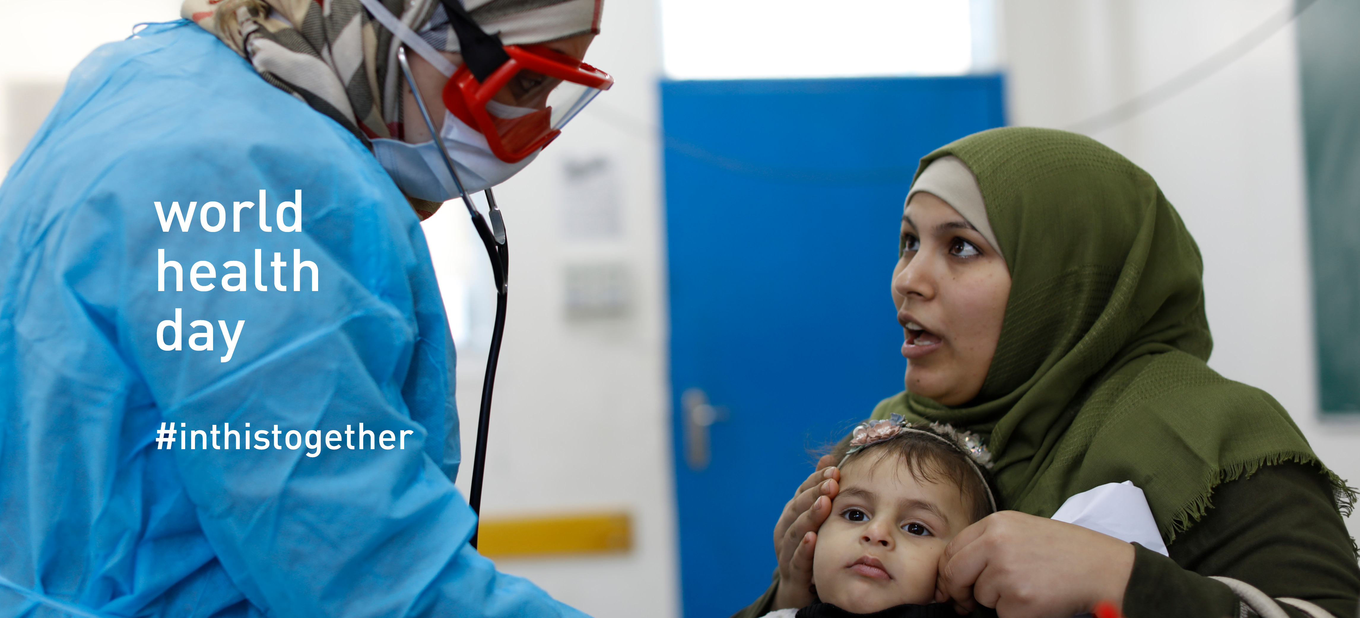 In the fight against the Coronavirus (COVID-19) UNRWA staff are on the frontlines