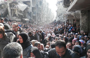 A Year of Hardship in Yarmouk