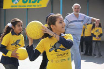 Italians inaugurate new sports facility in Beddawi and El-Buss camps