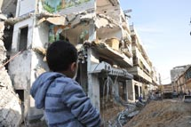 Gaza destruction, November 2012