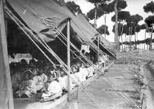 [SL/Dikwaneh/1] Dikwaneh refugee camp, Lebanon, 1950. UNRWA photo