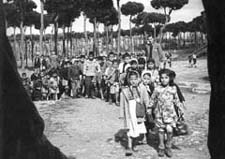 [SL/Dikwaneh/2] Dikwaneh refugee camp, Lebanon, 1955. UNRWA photo